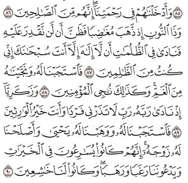Tafsir Surat Al-Anbiya' Ayat 86, 87, 88, 89, 90