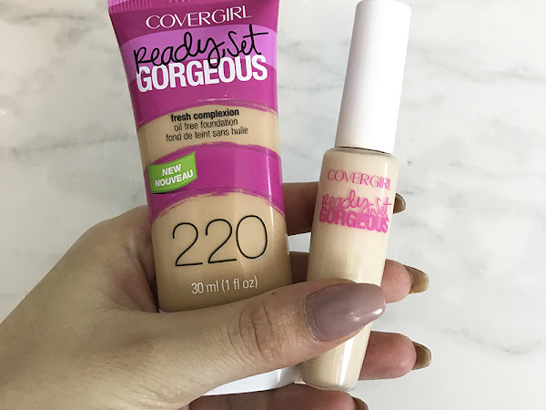 Covergirl Ready Set Gorgeous Foundation and Concealer Review