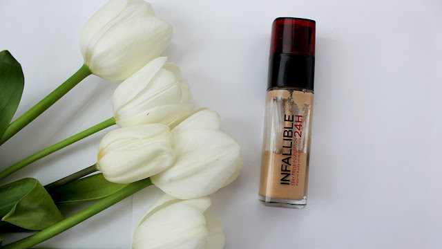 Loreal Infalliable 24H foundation  review