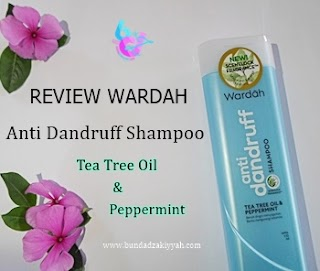 [Review] Wardah Anti Dandruff Shampoo