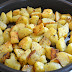Oven-roasted Potato Cubes with Fresh Herbs