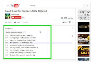 YouTube full transcript & timestamps