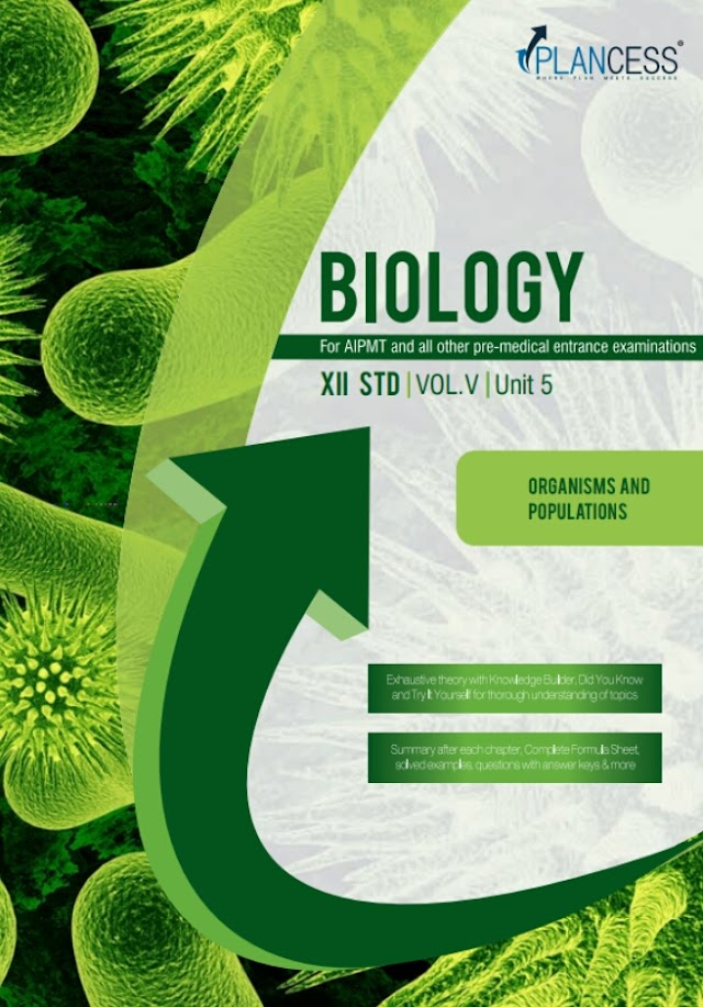 ORGANISMS AND POPULATIONS NOTE BY PLANCESS