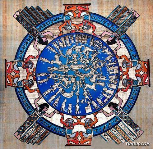 Think, Asian ancient calendar think