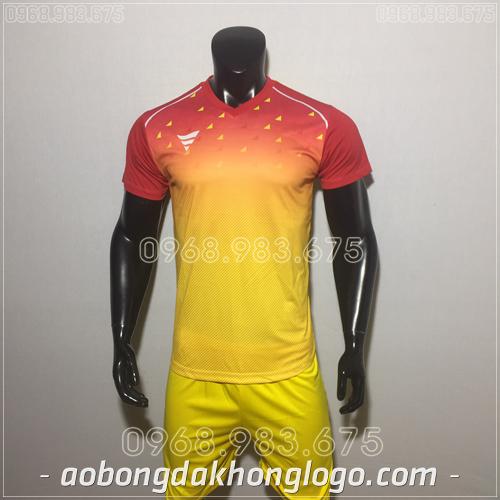 Áo bóng đá không logo TA HAT Matic mau vàng