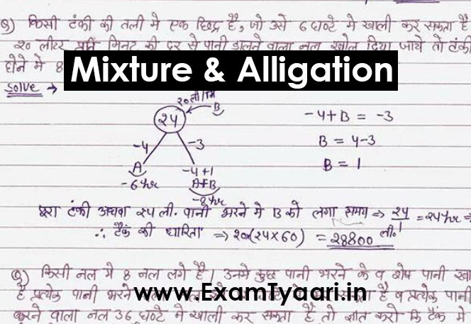 Mixture and Alligation Questions with Tricky Solutions [PDF