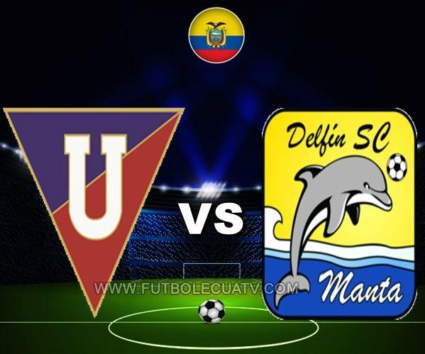 Liga de Quito vs Delfín se miden en vivo a partir de las 12:00 horario programado por la FEF a jugarse en el Estadio Rodrigo Paz Delgado por la fecha veintidós del campeonato ecuatoriano, siendo el juez principal Omar Ponce con emisión de los medios oficiales CNT, GolTV y DirecTV Sports.