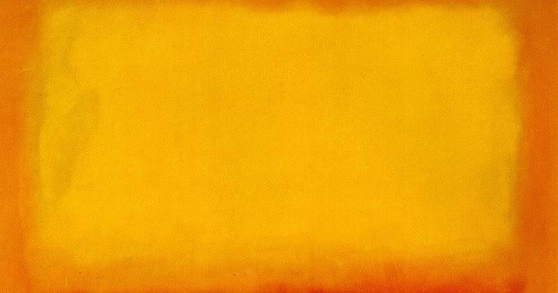Mark rothko naranja y amarillo mark rothko 1956 - Amarillo naranja ...