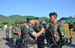 Melaksanakan Tugas Operasi Merupakan Kehormatan dan Kebanggaan Bagi Prajurit