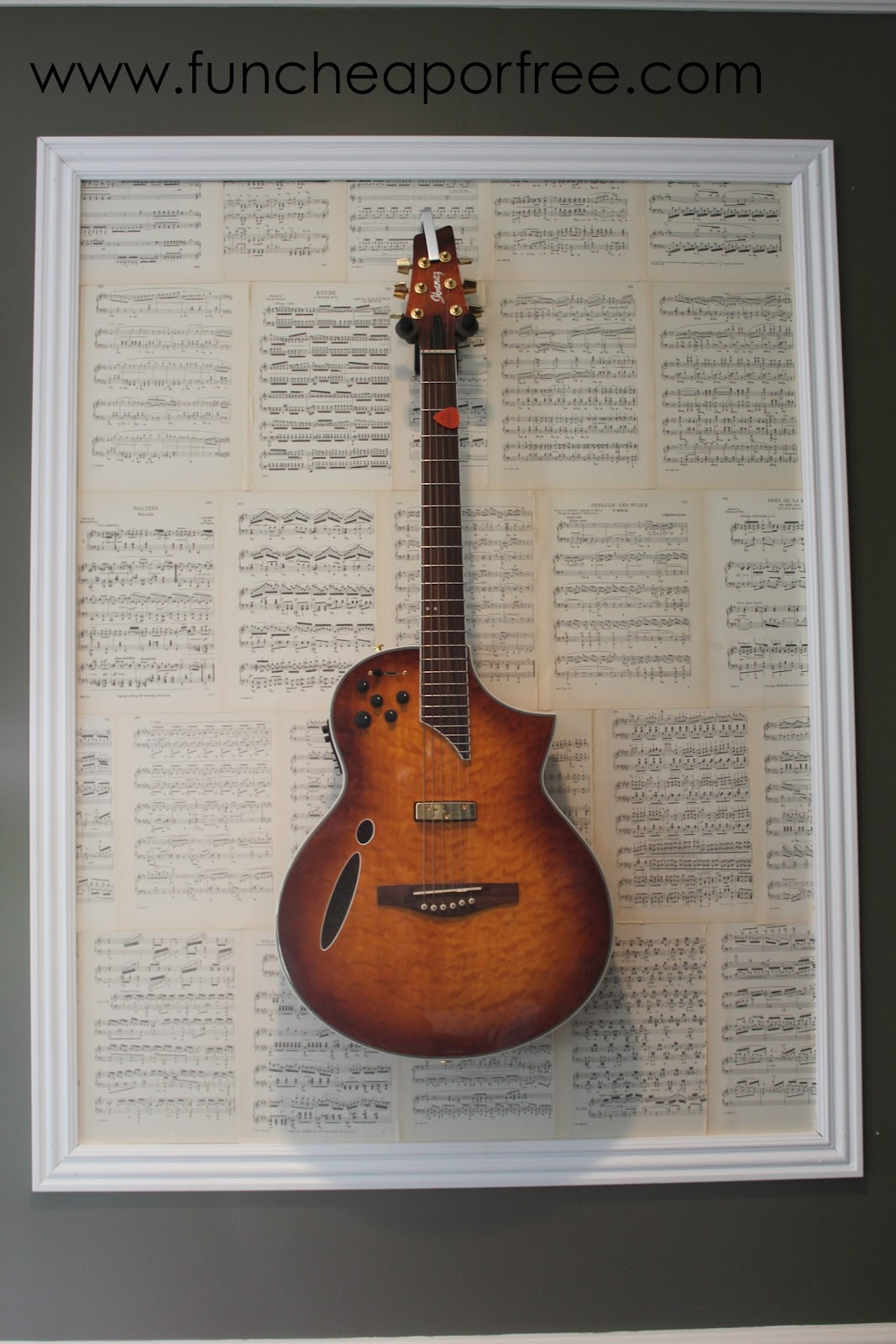 Diy Framed Guitars Fun Cheap Or Free