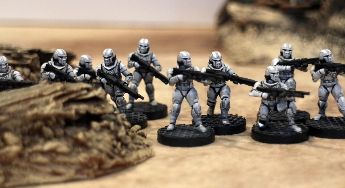 1000 Foot General: Sci-fi Soldiers with Custom 3D Printed Heads