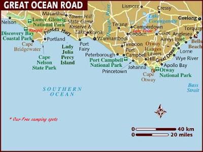 Robbiebago Adventures: Great Ocean Road