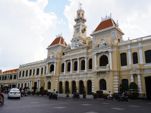 Il Palazzo del Comitato del Popolo HCMC