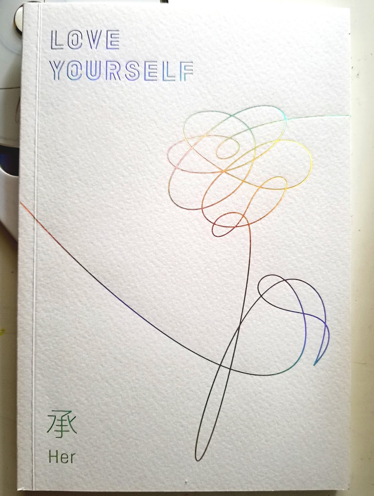 The bookworm album unboxing 3 love yourself her bts so first up can we just talk about the cover like so much pretty i love me some simple covers for albums and books its just very satisfying and i find solutioingenieria Choice Image