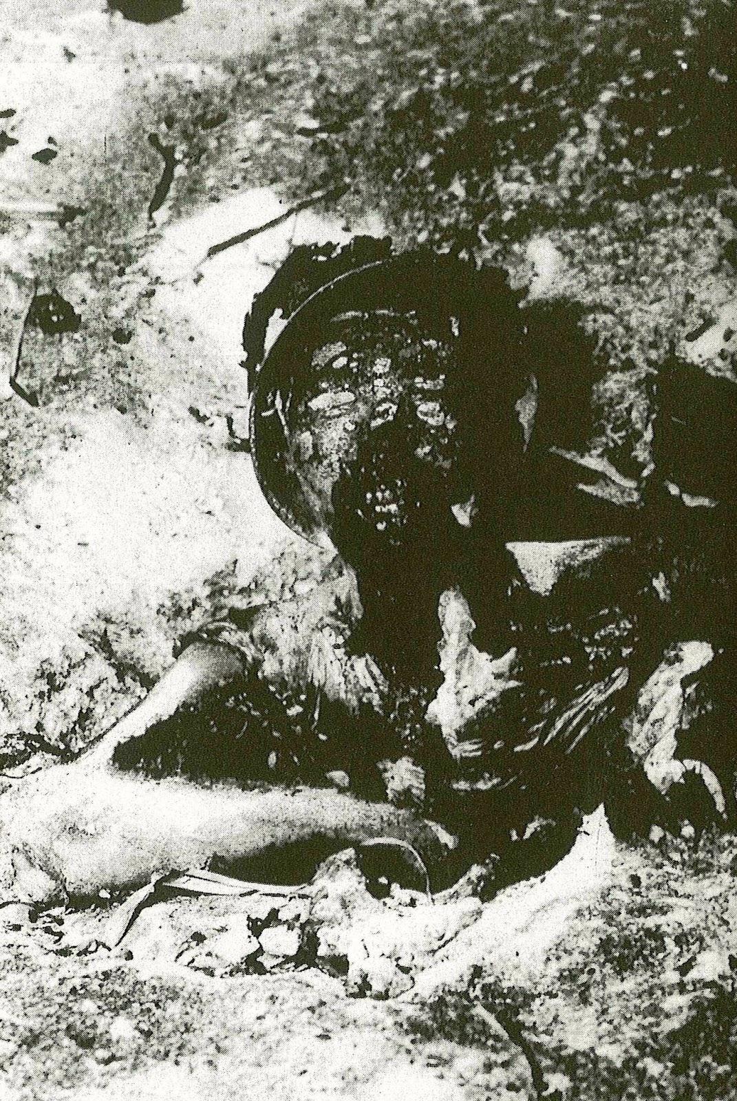 全身の火炎で残酷な焼死 | NGO平...