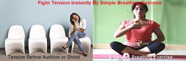 Tension and breathing exercise