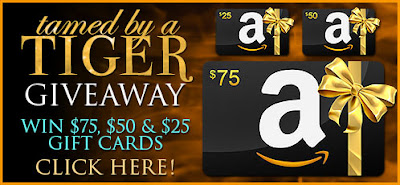 Tamed by a Tiger Giveaway