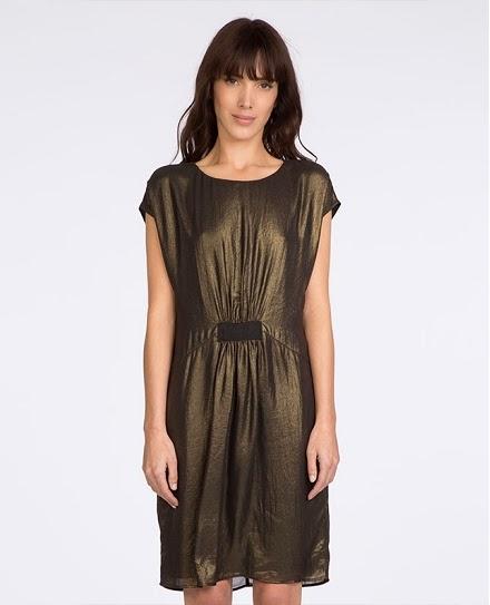 Comptoir des cotonniers, robe drapée, 195 euros