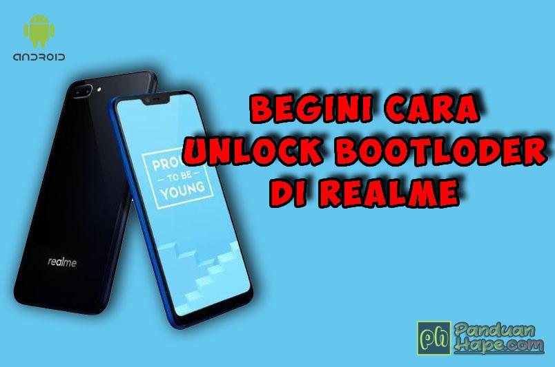 Cara Mudah UBL (Unlock Bootloader) Realme (Test: Realme C1