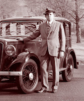 Ian Bayley and his 1935 Austin 12