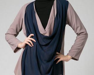 model baju muslim dan hijab modern