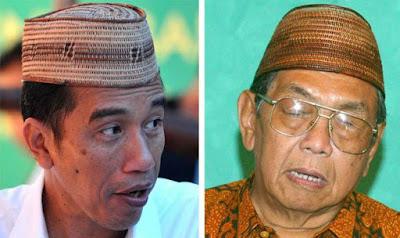 Jokowi dan Gusdur