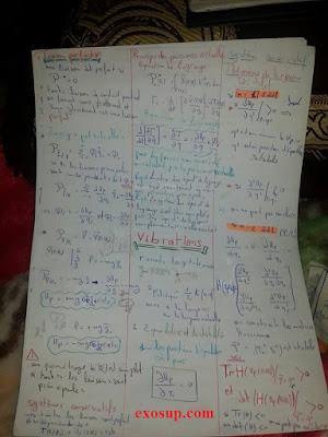 résumé de mécanique analytique et vibrations smp s5