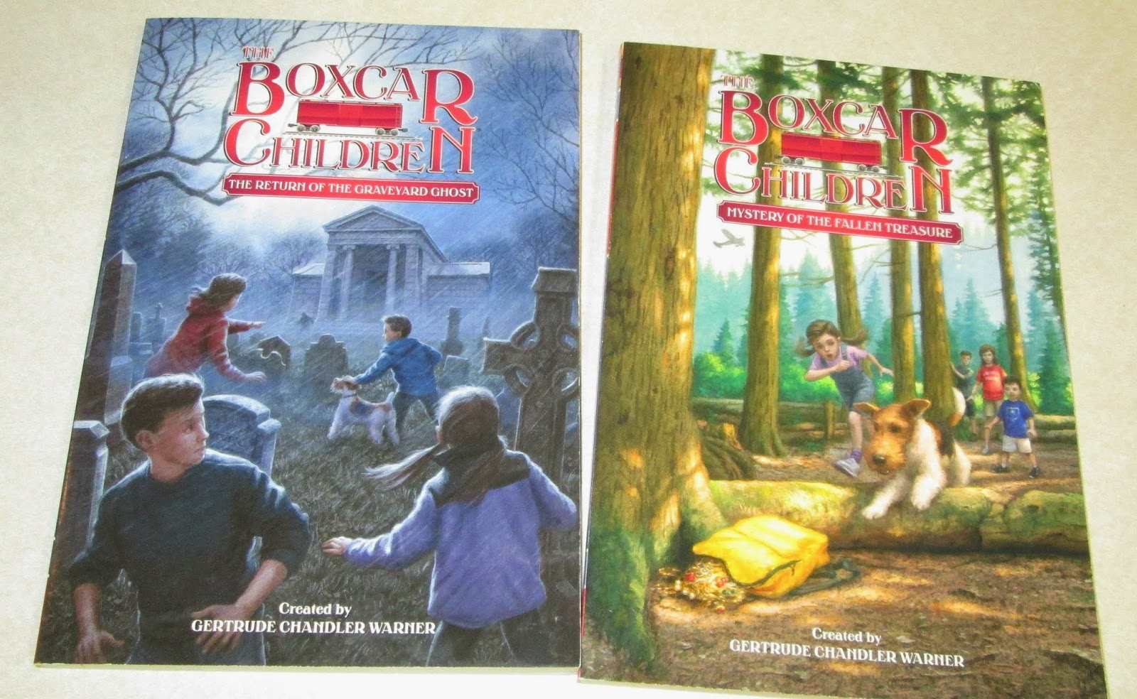 Box Car Children: Mommie Of 2: Great Holiday Gifts From Albert Whithman