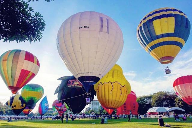 Lễ hội khinh khí cầu ở Kuala Lumpur vào tháng 2-2020