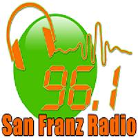 San Franz Radio DXSF 96.1Mhz logo