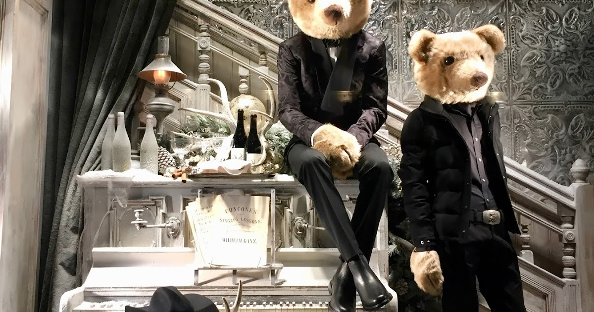 Ralph Lauren Teddy Bear Bed Set