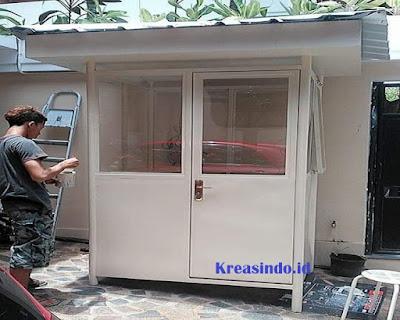 Jasa Pos Jaga Besi di Tangerang dan sekitarnya