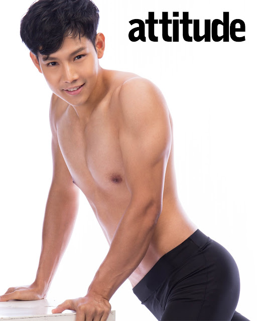 [Attitude Thailand] - behind the scene - cover Itisak Wuttitanawat