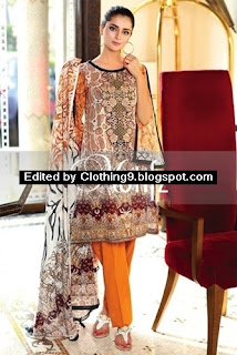 Motifz Rangol Embroidered Lawn 2016-2017