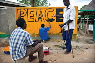 Some African countries still are mired in conflict and peace remains fragile in many others.