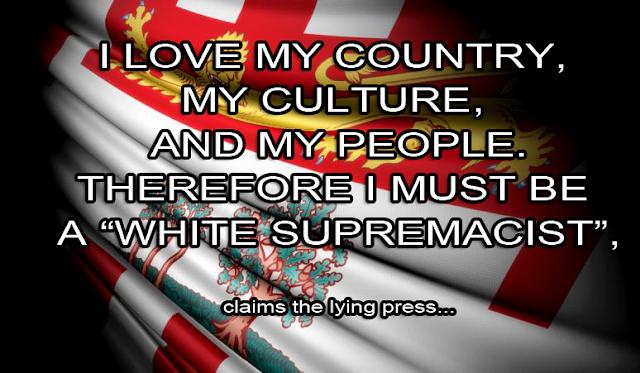 "Lying Press on ""White Supremacists"""