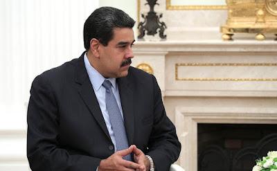 President of Venezuela Nicolas Maduro in Moscow.