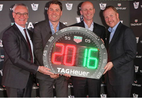 Ranieri se incorpora como nuevo embajador de TAG Heuer