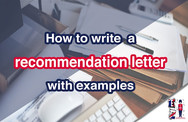 How to write a recommendation letter with examples