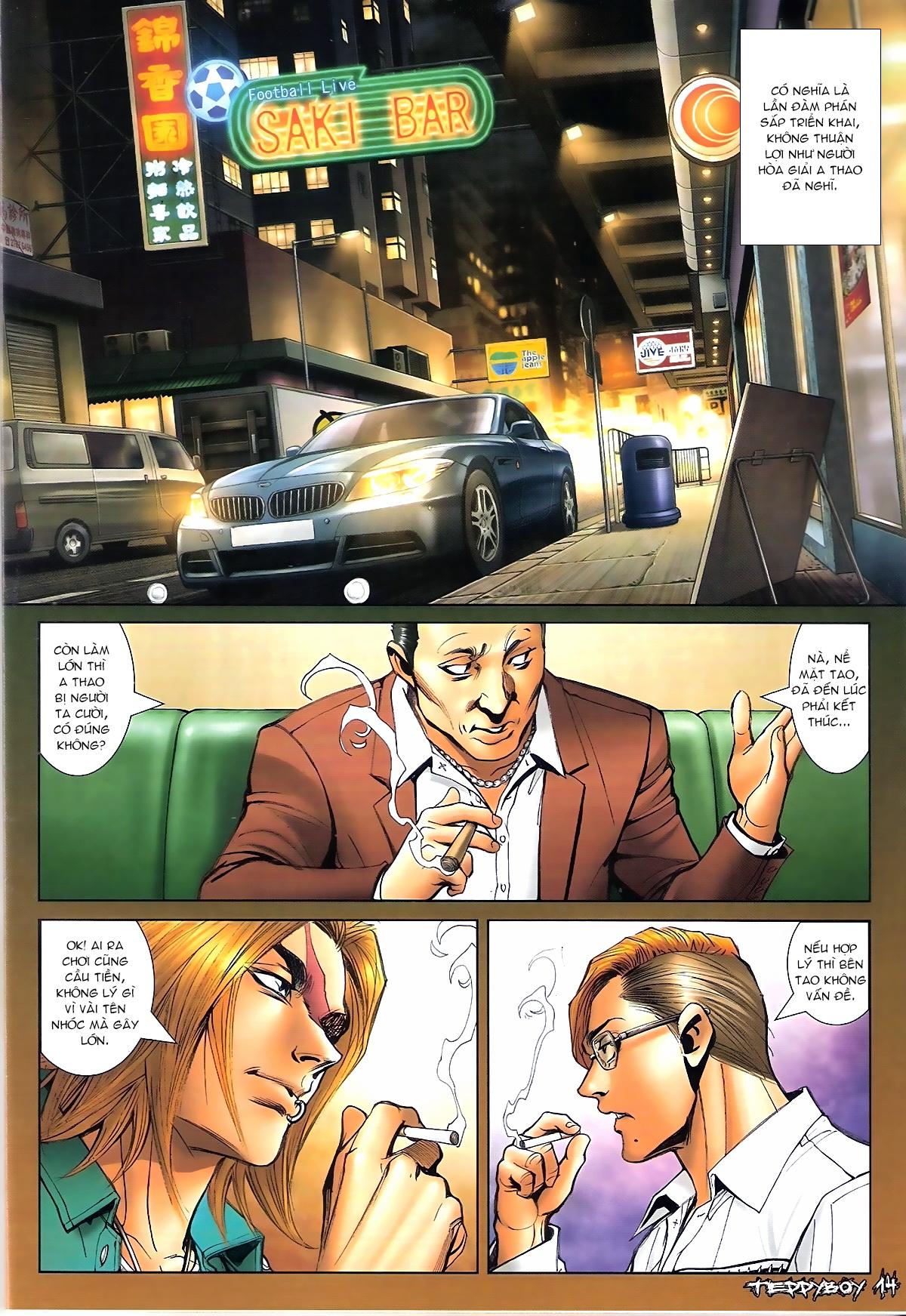 Người Trong Giang Hồ - Chapter 1331: Chạm trán - Pic 12