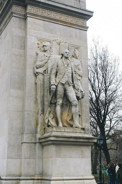 ワシントン・スクエア公園(Washington Square Park)|ワシントン・スクエア凱旋(Washington Square Arch)