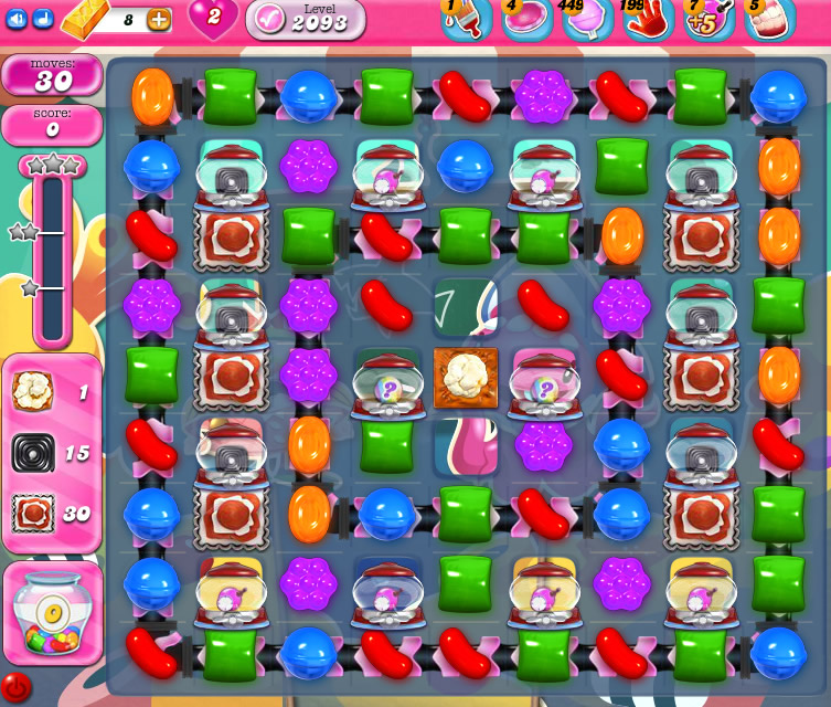 Candy Crush Saga level 2093