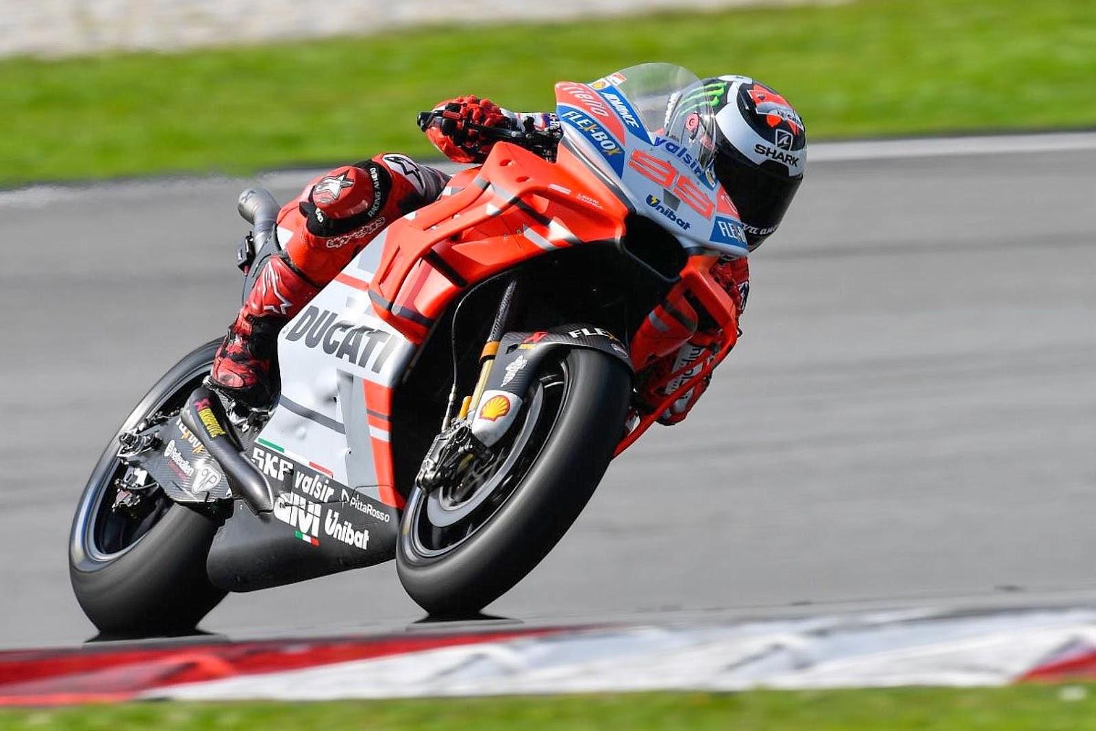 Gunakan motor baru, Lorenzo jadi yang tercepat sepanjang sejarah sirkuit pada Sepang Winter test 2018