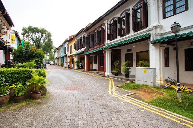 Emerald hill road-Singapore