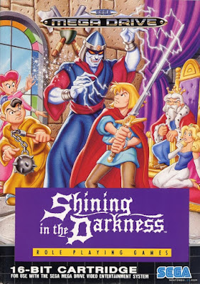 Rom de Shinning in the Darkness - Mega Drive - PT-BR