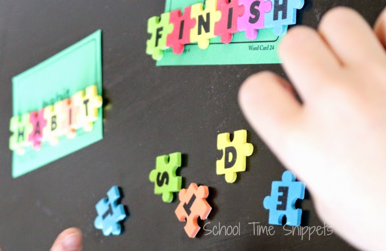 Hands-on Spelling Game for Kids