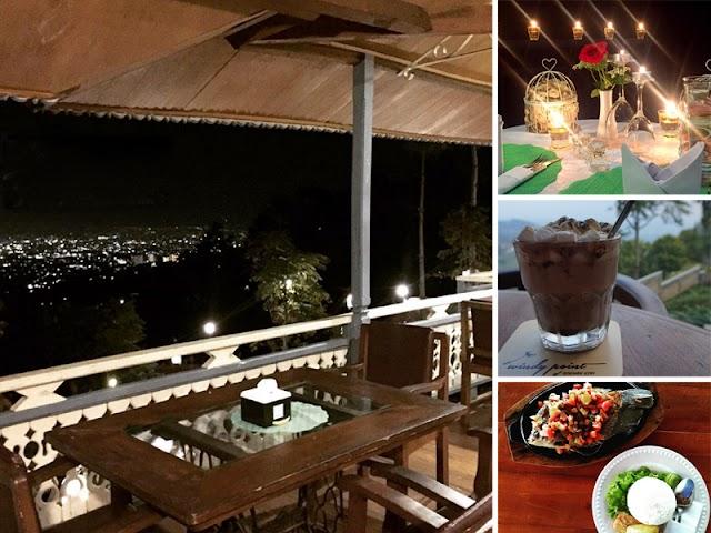 Windy Point of Roemah Kopi, Tempat Kuliner dengan Suasana Romantis di Punclut