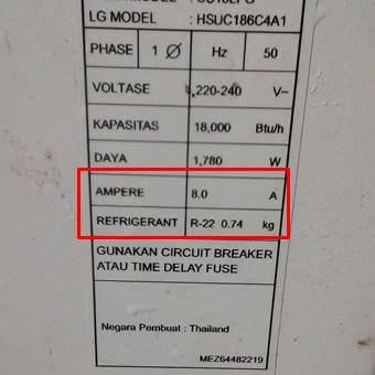 Nameplate AC