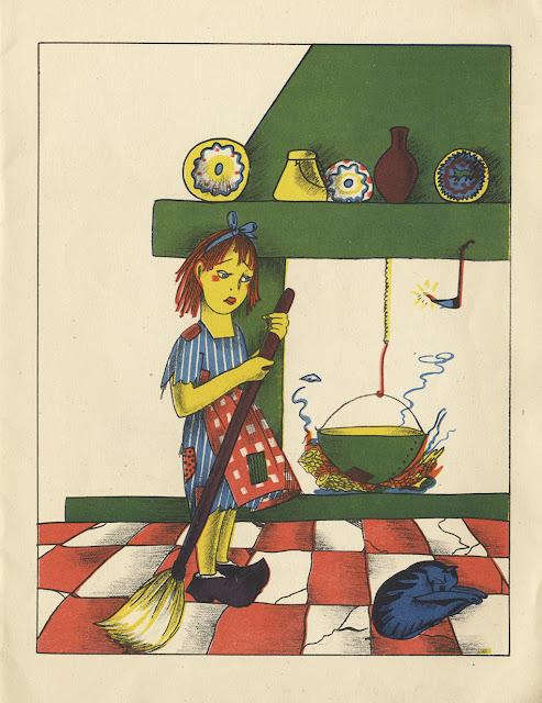 Pinturas infantiles - Piti Bartolozzi -  Saturnino Calleja - Cenicienta