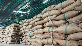 India's Rice Stock in Central Pool is Down From Last Month